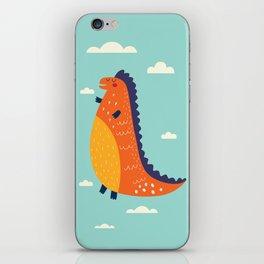Funny Dinosaur iPhone Skin