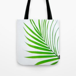Simple palm leaves Tote Bag