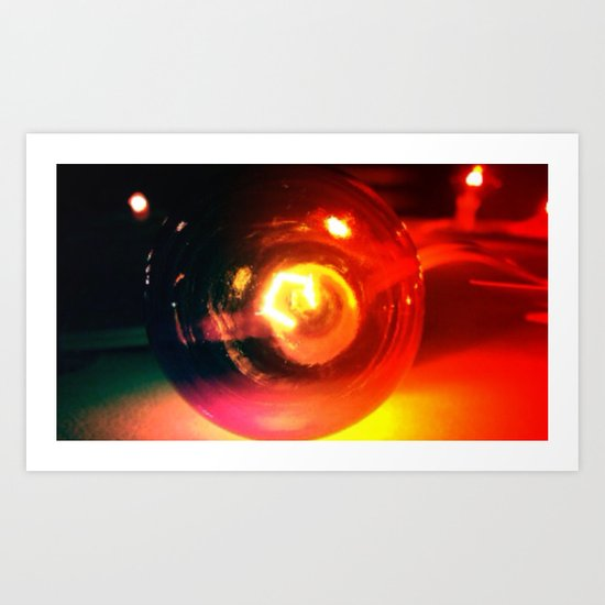 Color Light Art Print