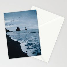 Iceland's Black Sand Beach Stationery Cards