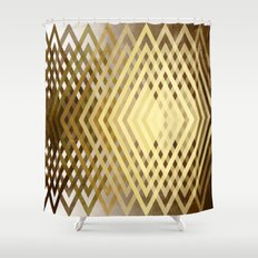 CUBIC DELAY Shower Curtain
