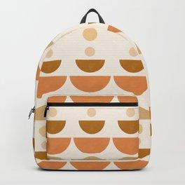 Abstraction_Geometric_Shape_Moon_Sun_Minimalism_001D Backpack