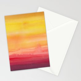 Heat waves Stationery Cards