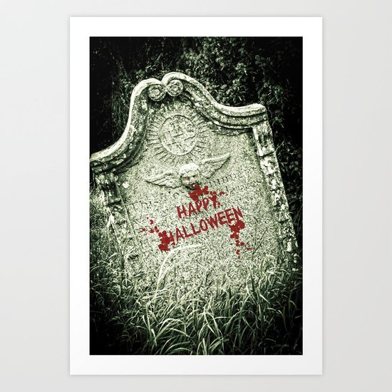 Fright Night Art Print