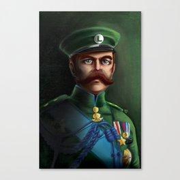 Lieutenant Luigi Canvas Print