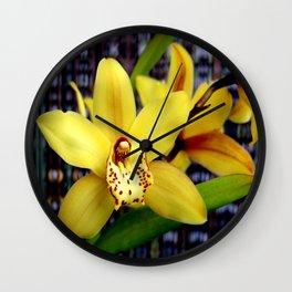 The Yellow Zone Wall Clock
