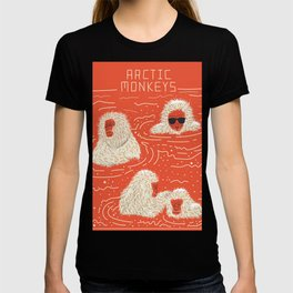 Actual Arctic Snow Monkeys T-shirt
