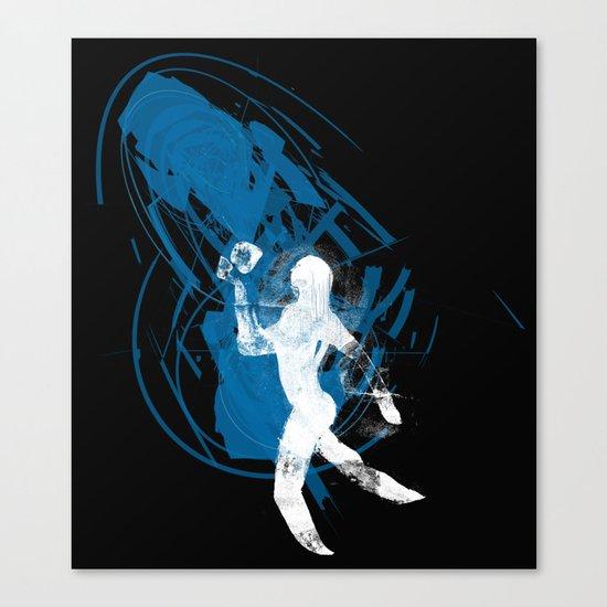 paleo runner Canvas Print