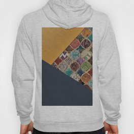 (N11) Vintage Traditional Moroccan Artwork Mixed with Modern Colored Touch. Hoody