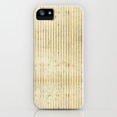 gOld stripes Slim Case iPhone (5, 5s)