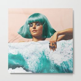 Waterbed Metal Print