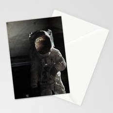 Sad story about a chimp in space Stationery Cards