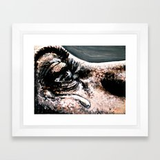 Spilled Milk Framed Art Print