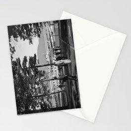 Vintage Lake George: The Sagamore Docks at Green Island Stationery Cards