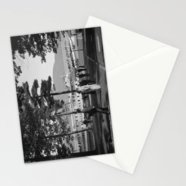 Vintage Lake George: The Sagamore Docks at Green Island Stationery Cards