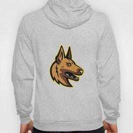 Belgian Malinois Dog Mascot Hoody
