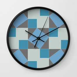 Pythagorean Pattern Wall Clock