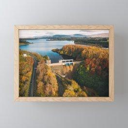Poulaphouca Hydro Station Wicklow Ireland Framed Mini Art Print