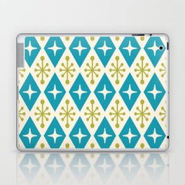 Mid Century Modern Atomic Triangle Pattern 108 Laptop & iPad Skin