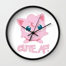 Cute AF! Wall Clock