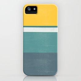 stripe study 2 iPhone Case
