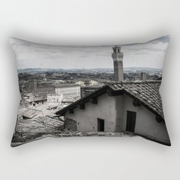 View of Sienna from the Cathedral Rectangular Pillow