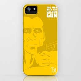 The Man With The Golden Gun iPhone Case
