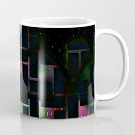 Psychedelic Sqaures Coffee Mug