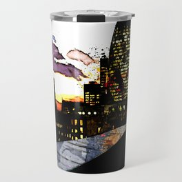 Spiderman in London Travel Mug