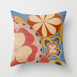 Hilma af Klint Group iv No. 2 the Ten Largest Youth Throw Pillow