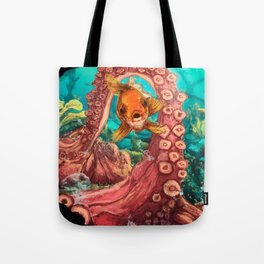 Under the glup... Tote Bag