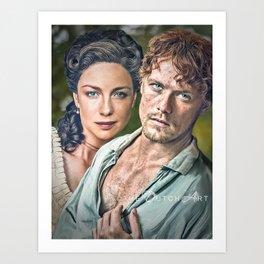 Missing Scotland Art Print