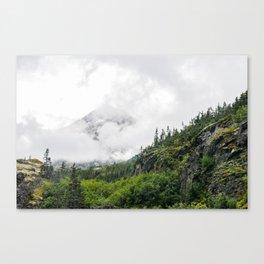 White Pass Summit Mountains Canvas Print