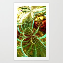 Fragile Dimension Art Print