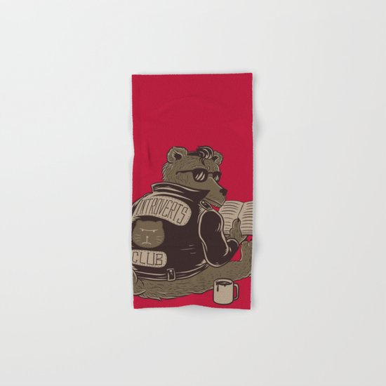 Introverts Club Hand & Bath Towel