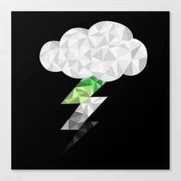 Aromantic Storm Cloud Canvas Print