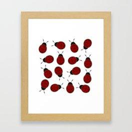 Dotted Ladybird  Framed Art Print
