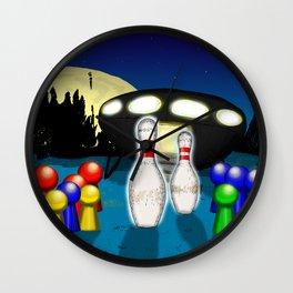 Alien Ludo Wall Clock