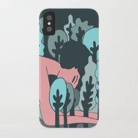 forrest gump iPhone & iPod Cases featuring forrest by Regina Rivas Bigordá