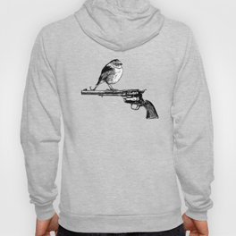 Colt Peacemaker and bird - Weapon - Gun - Pop Culture Hoody