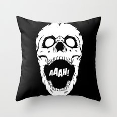 Say AAAH! Throw Pillow