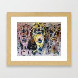 JAWN Framed Art Print
