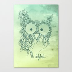 The Babybirds Owl 02 Canvas Print