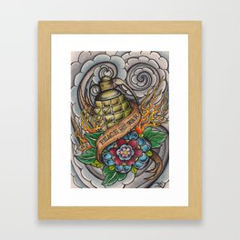 Peace Not War Framed Art Print