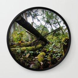 chopped down Wall Clock