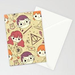 Harry Pattern Stationery Cards