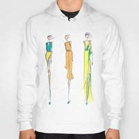 fashion illustration Hoodies featuring Fashion Illustration by Anukriti Goswami