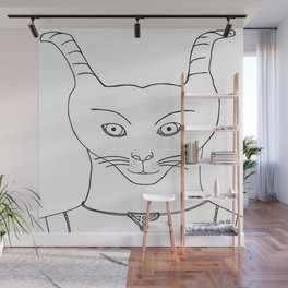 Alien superheroe type 1 Wall Mural