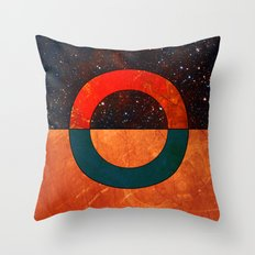 Abstract #129 Throw Pillow
