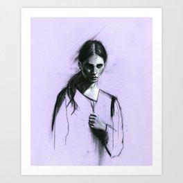 Cloaked Art Print